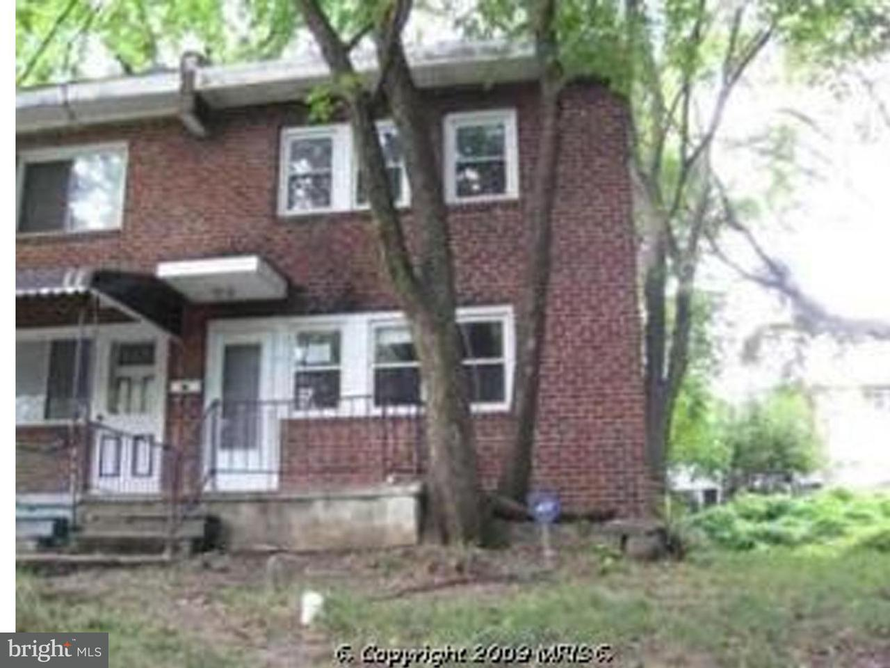 Single Family for Sale at 4200 Bonner Rd Baltimore, Maryland 21216 United States
