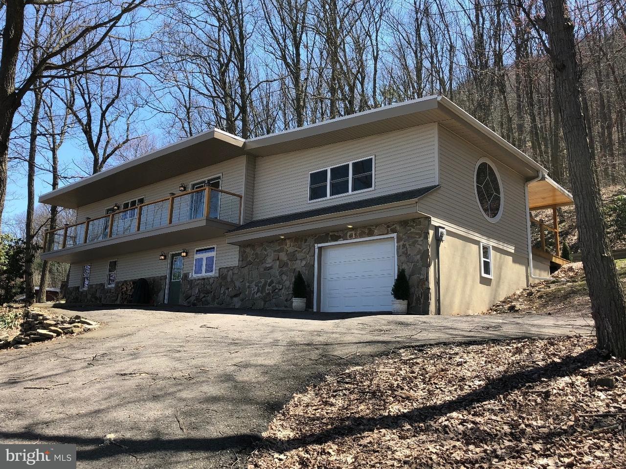 Частный односемейный дом для того Продажа на 334 ROUTE 93 Conyngham, Пенсильвания 18219 Соединенные Штаты