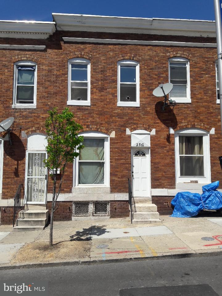 Single Family for Sale at 2310 Fayette St W Baltimore, Maryland 21223 United States