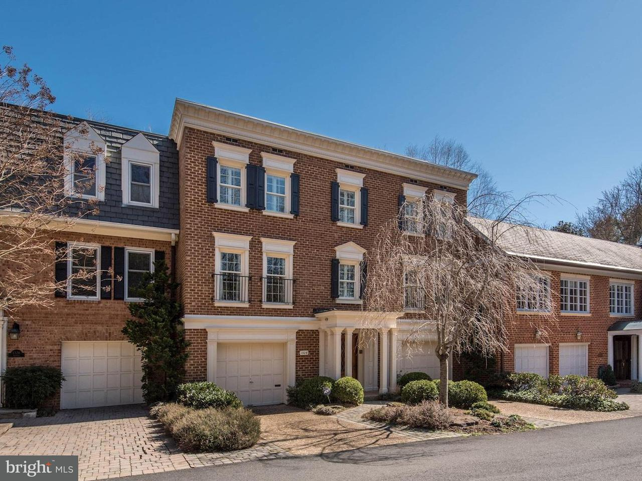 Townhouse for Sale at 1328 Skipwith Road 1328 Skipwith Road McLean, Virginia 22101 United States