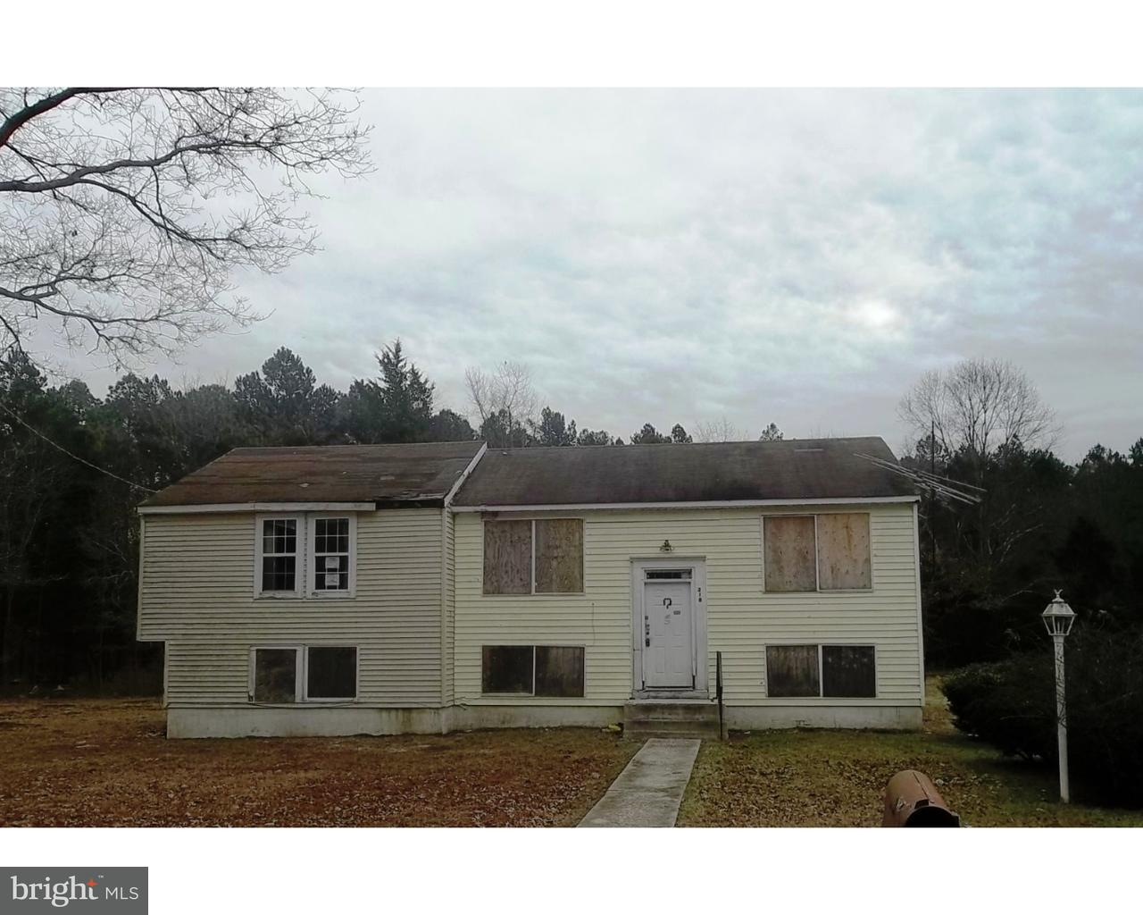 Maison unifamiliale pour l Vente à 318 10TH Street Newtonville, New Jersey 08346 États-Unis