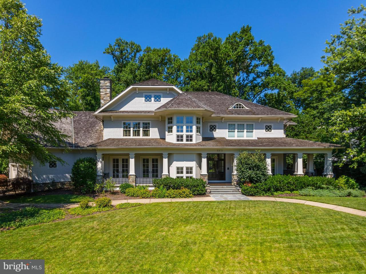 Single Family for Sale at 6810 Barrett Ln Bethesda, Maryland 20814 United States
