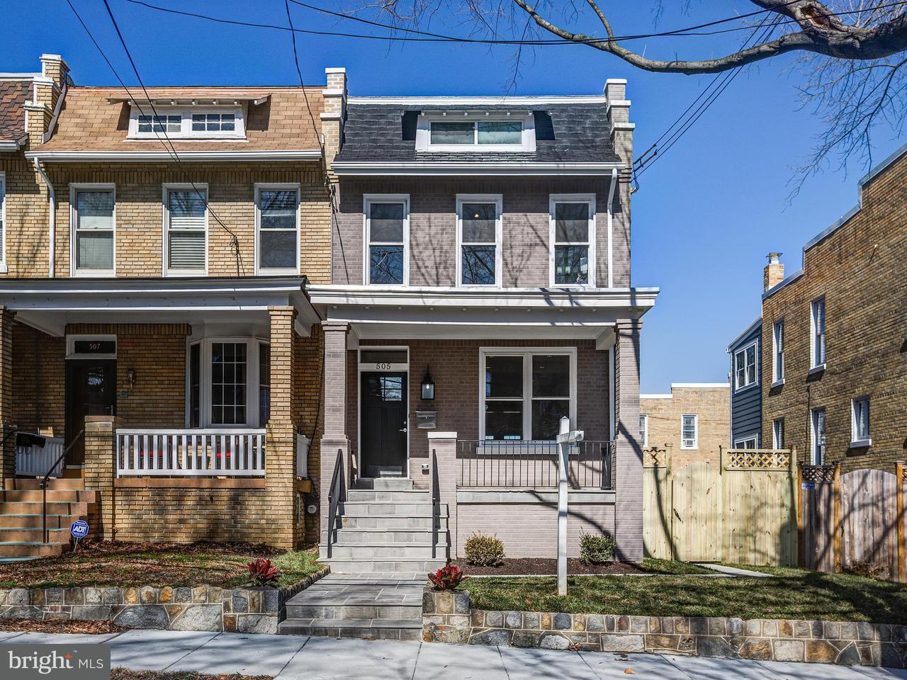 Townhouse for Sale at 505 Nicholson St Nw 505 Nicholson St Nw Washington, District Of Columbia 20011 United States