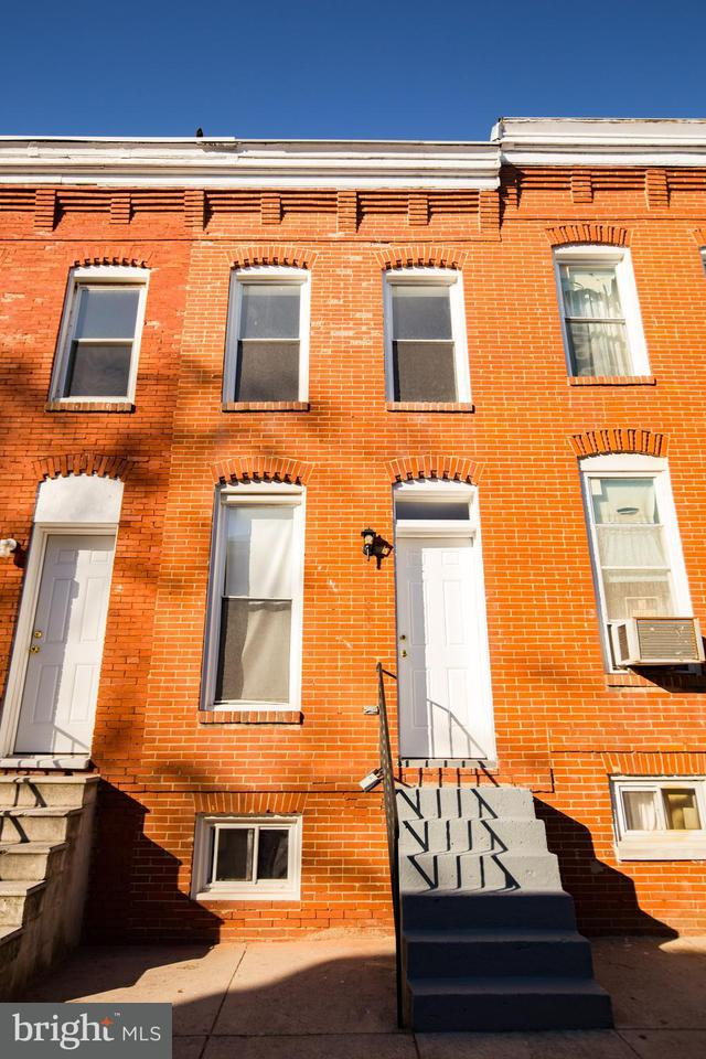 Single Family for Sale at 1708 Latrobe St Baltimore, Maryland 21202 United States