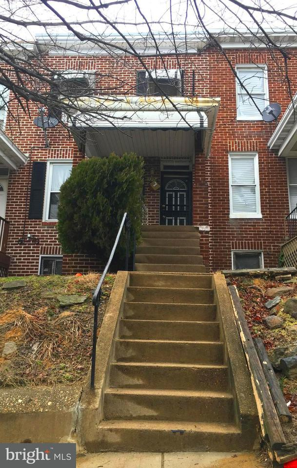 Single Family for Sale at 3204 Elmora Ave Baltimore, Maryland 21213 United States