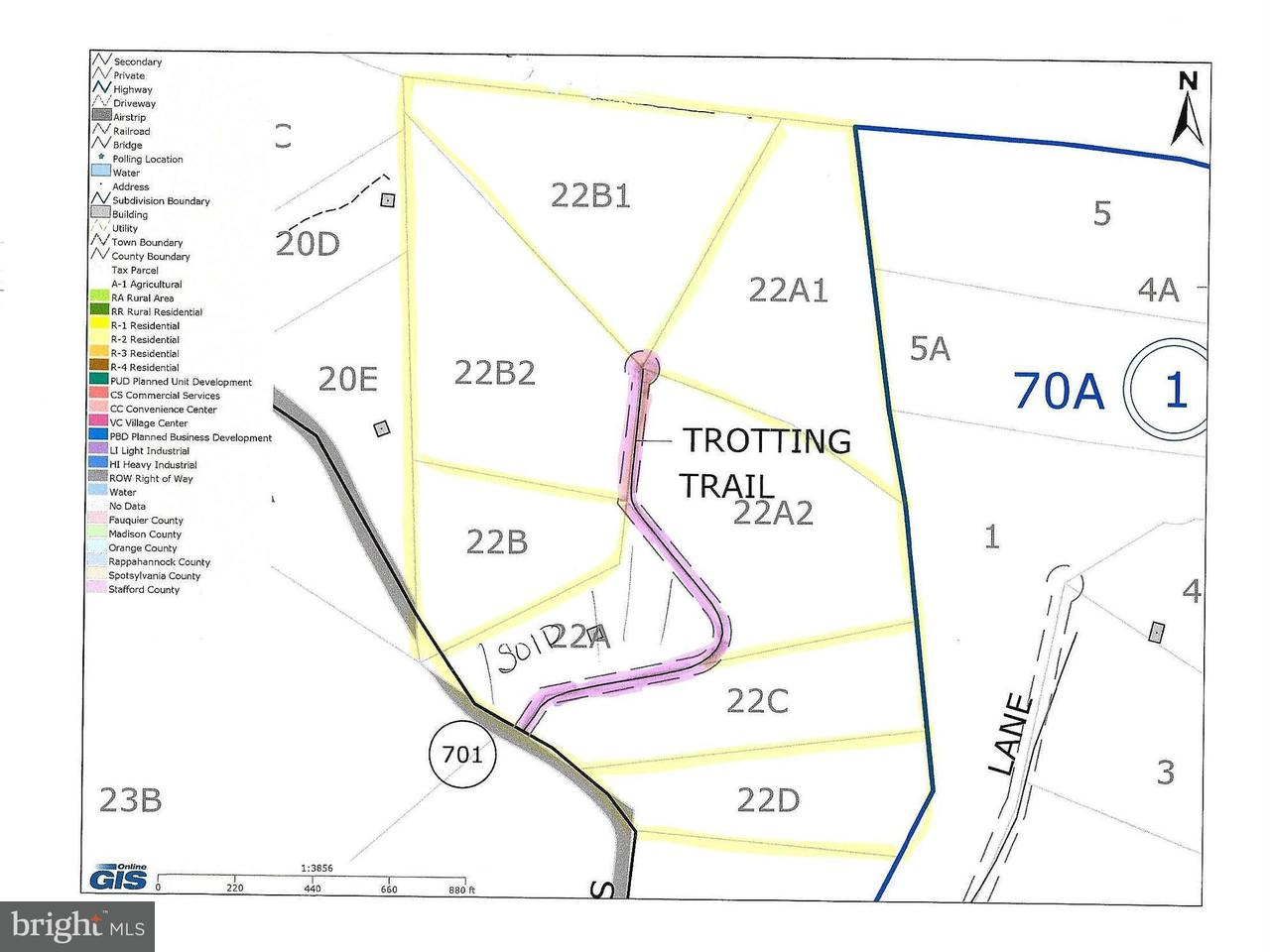 Land for Sale at Trotting Trl Richardsville, Virginia 22736 United States
