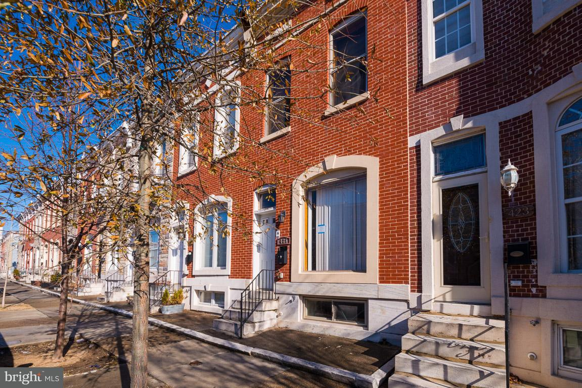 Single Family for Sale at 425 Luzerne Ave Baltimore, Maryland 21224 United States