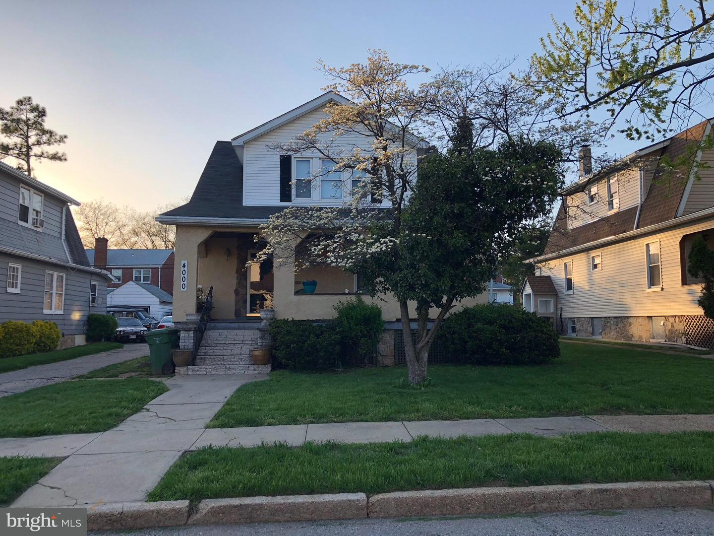 Single Family for Sale at 4000 Pinkney Rd Baltimore, Maryland 21215 United States