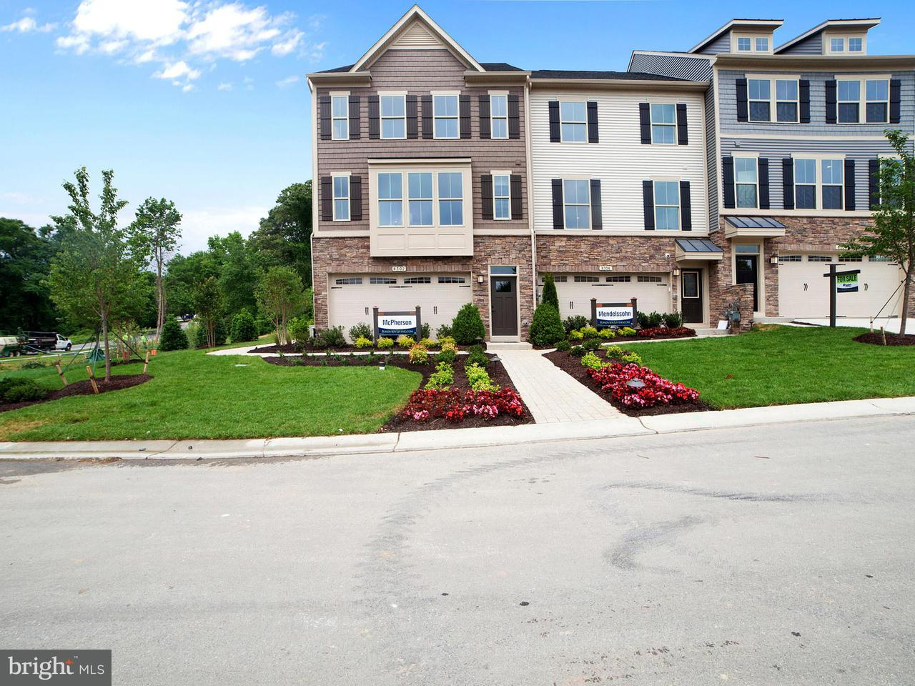 Townhouse for Sale at 8337 Kippis Road 8337 Kippis Road Millersville, Maryland 21108 United States