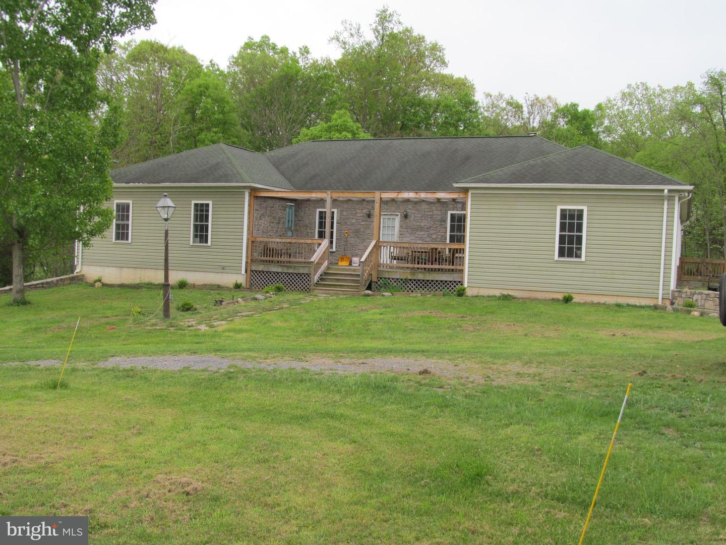 Single Family for Sale at 1295 South Branch Rd Levels, West Virginia 25431 United States