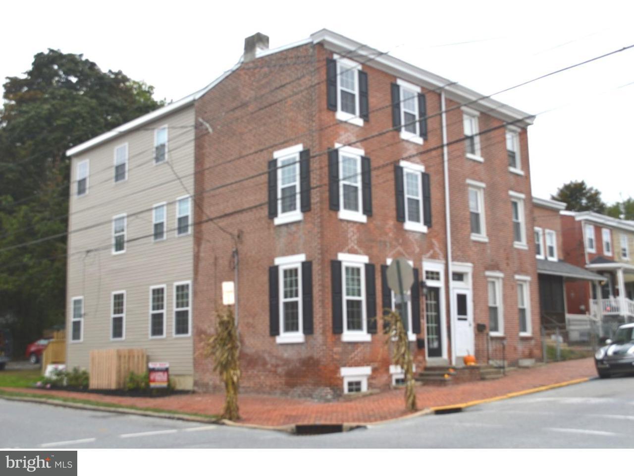 Casa unifamiliar adosada (Townhouse) por un Alquiler en 135 W BIDDLE Street West Chester, Pennsylvania 19380 Estados Unidos