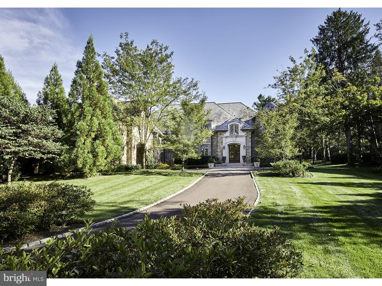 Частный односемейный дом для того Продажа на 929 ROCK CREEK Road Bryn Mawr, Пенсильвания 19010 Соединенные Штаты