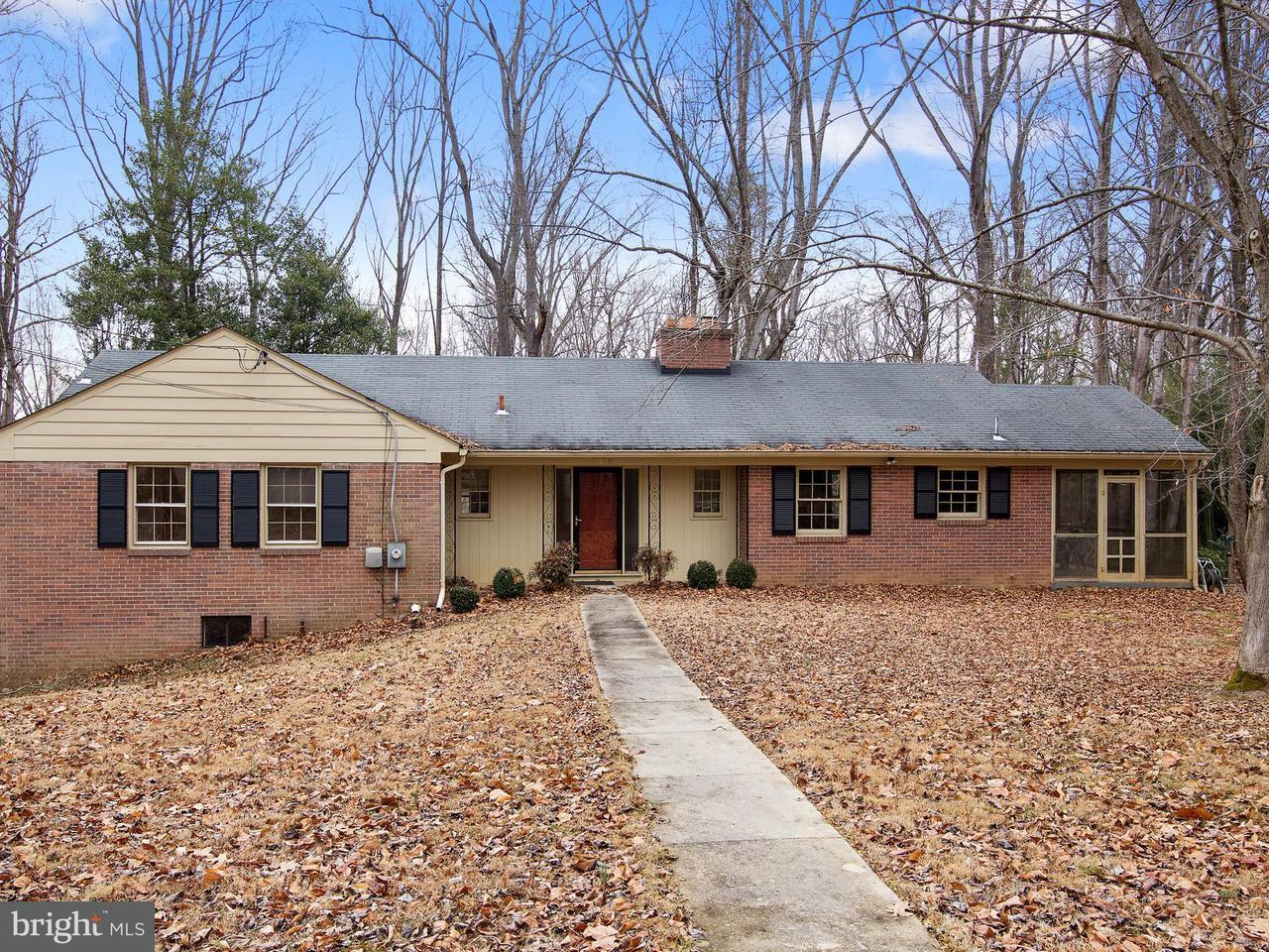Maison unifamiliale pour l Vente à 11760 Glen Mill Road 11760 Glen Mill Road Rockville, Maryland 20854 États-Unis