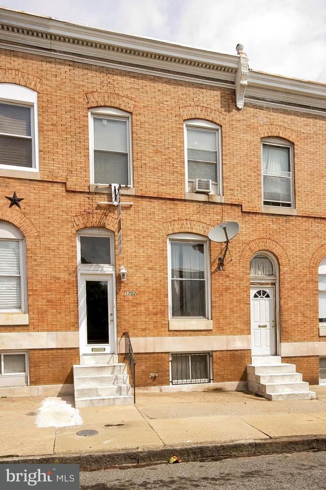 Photo of home for sale at 1702 Lanvale Street, Baltimore MD