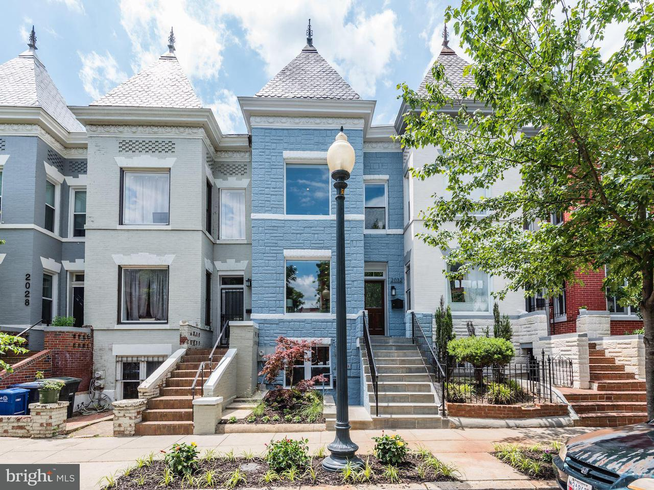 Single Family for Sale at 2032 Flagler Pl NW Washington, District Of Columbia 20001 United States