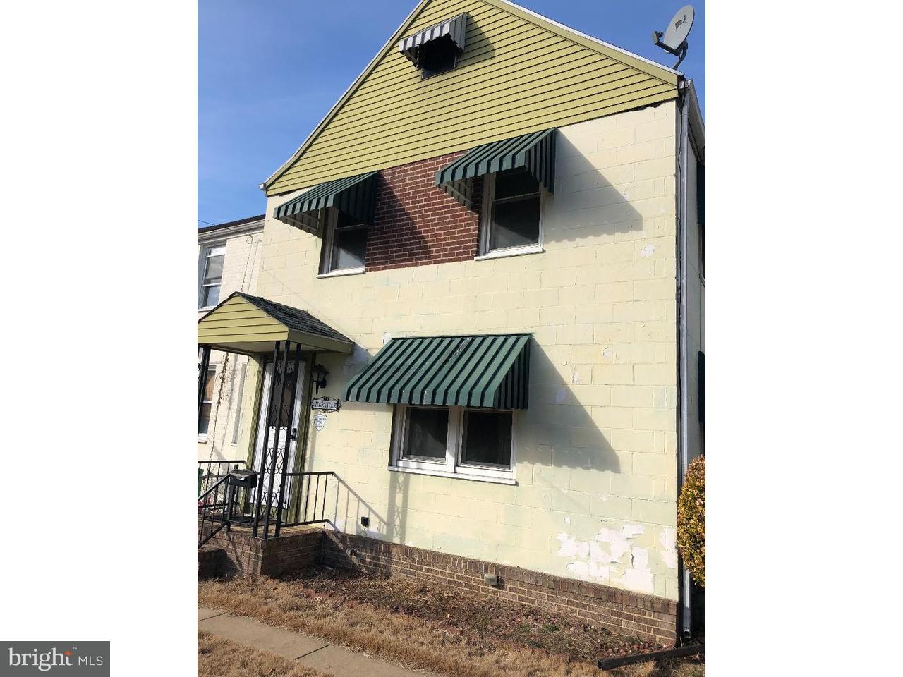 Maison accolée pour l Vente à 1313 SYCAMORE Avenue Elsmere, Delaware 19805 États-Unis