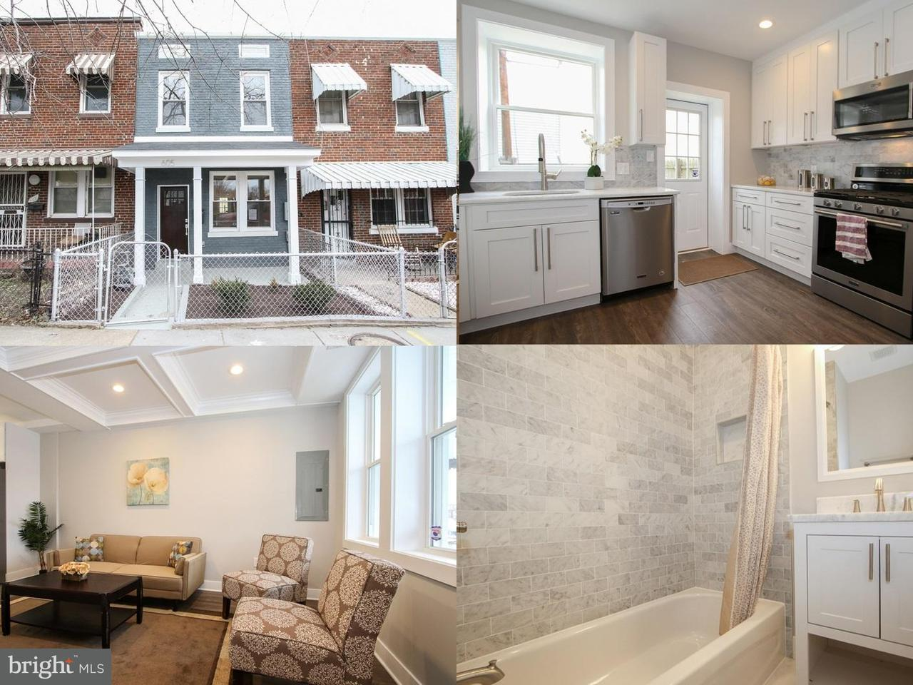 Townhouse for Sale at 605 18th St Ne 605 18th St Ne Washington, District Of Columbia 20002 United States