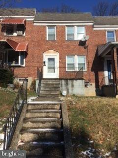 Single Family for Sale at 2404 Coldspring Ln W Baltimore, Maryland 21215 United States