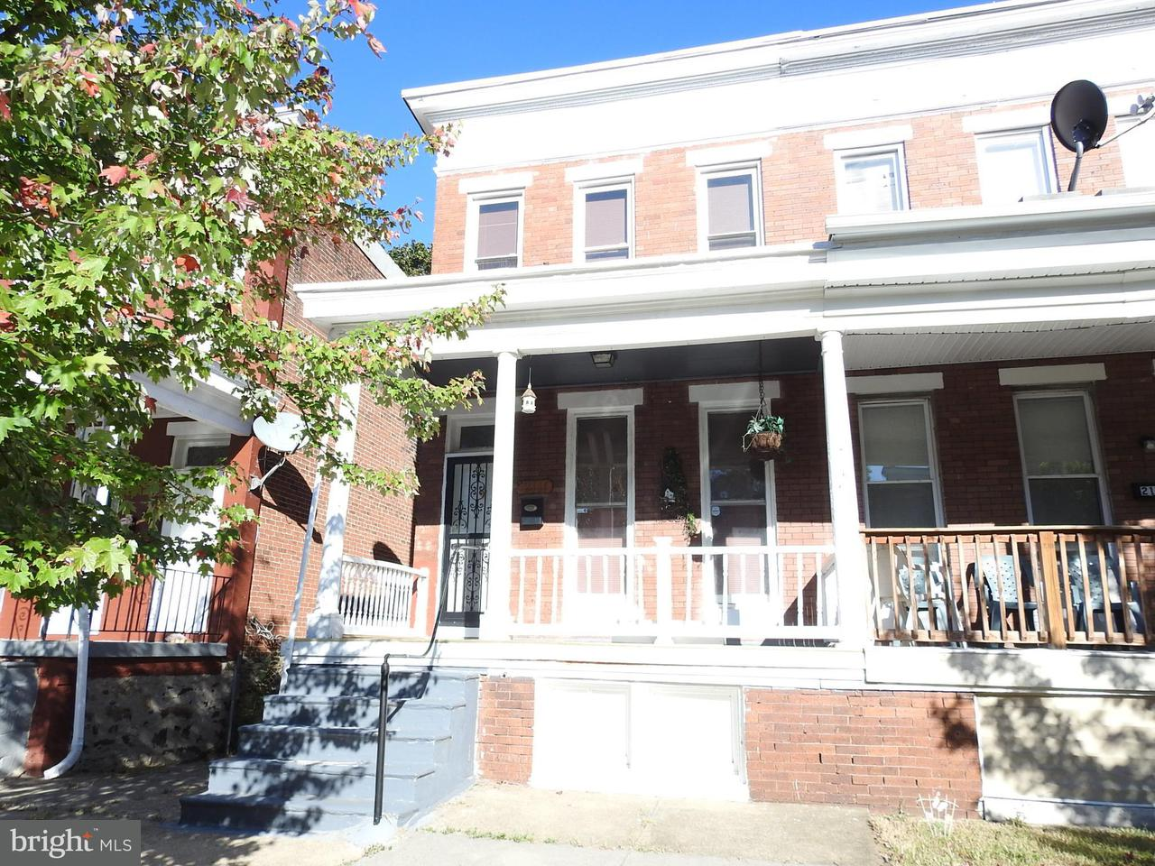 Single Family for Sale at 2111 Longwood St Baltimore, Maryland 21216 United States