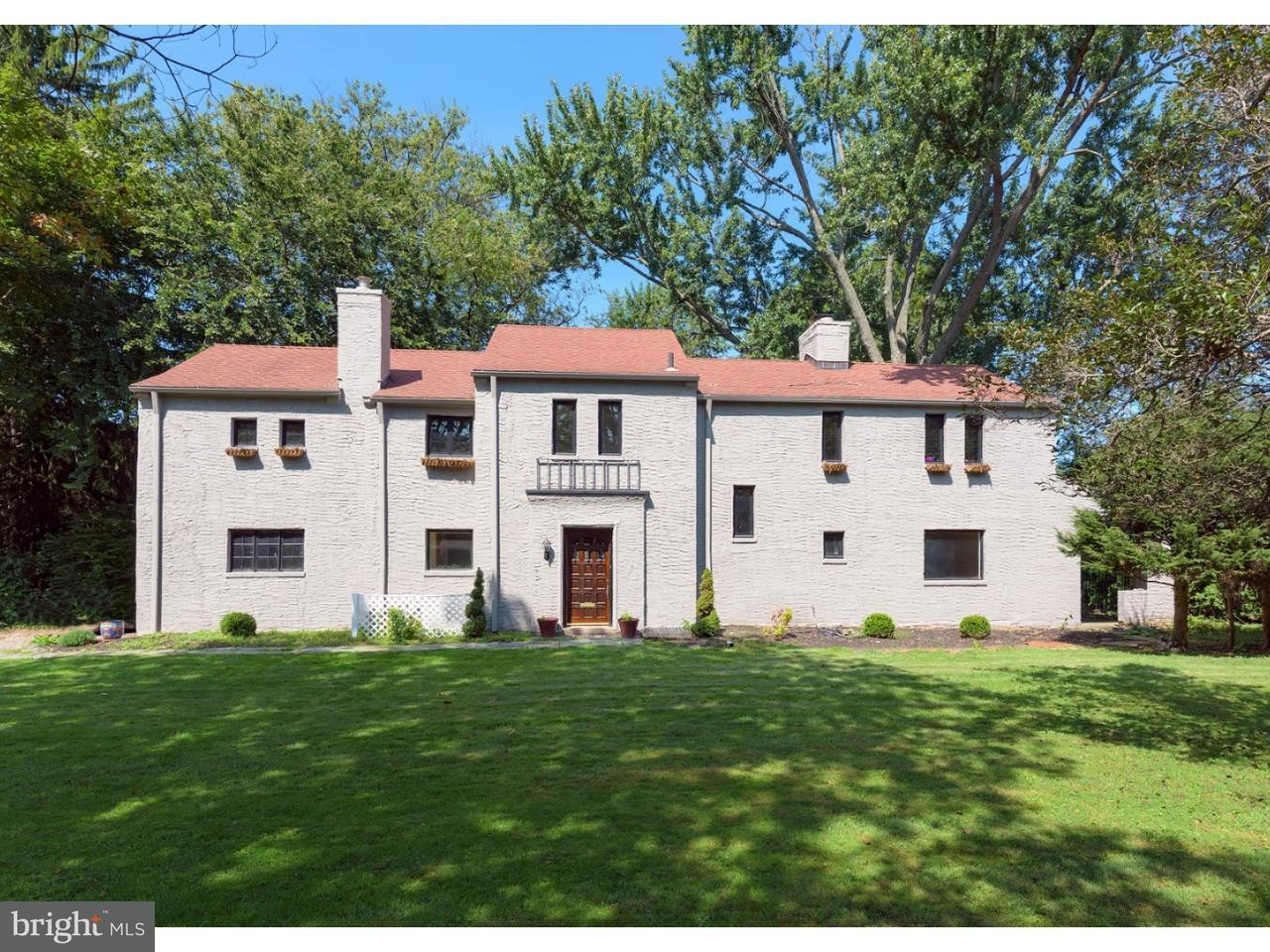 Частный односемейный дом для того Аренда на 1421 HILLSIDE Road Wynnewood, Пенсильвания 19096 Соединенные Штаты