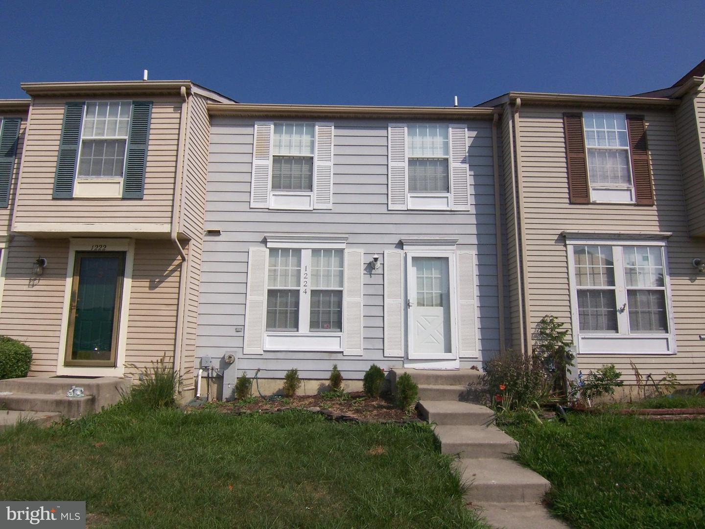 Other Residential for Rent at 1224 Valley Leaf Ct Edgewood, Maryland 21040 United States