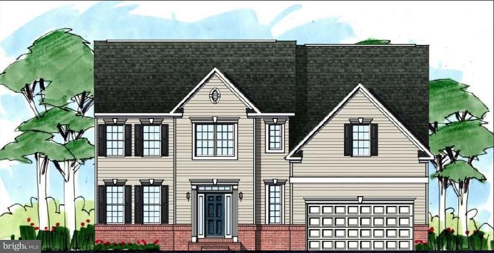 Maison unifamiliale pour l Vente à 1990 Foxwood Lane 1990 Foxwood Lane Lusby, Maryland 20657 États-Unis