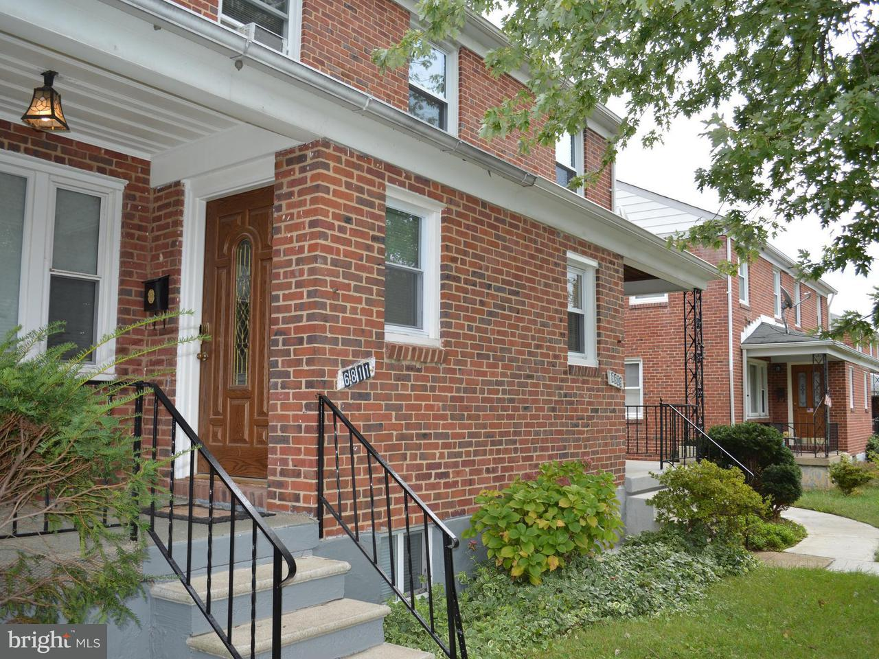 Single Family for Sale at 6811 Williamson Ave Baltimore, Maryland 21215 United States