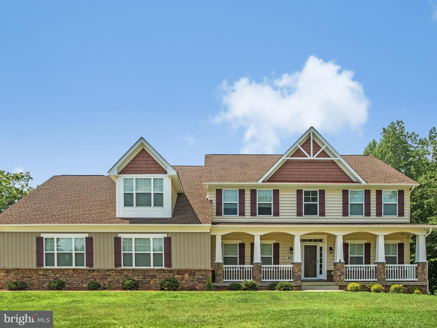 Single Family for Sale at 90 Evanston Ct Stafford, Virginia 22556 United States