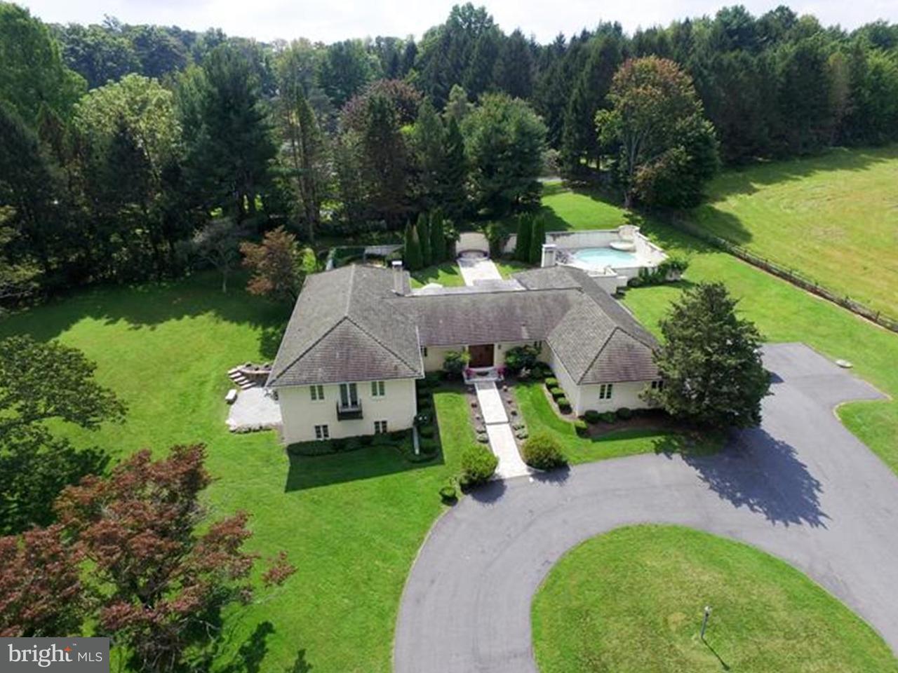 獨棟家庭住宅 為 出售 在 126 ADAMS DAM Road Montchanin, 特拉華州 19807 美國