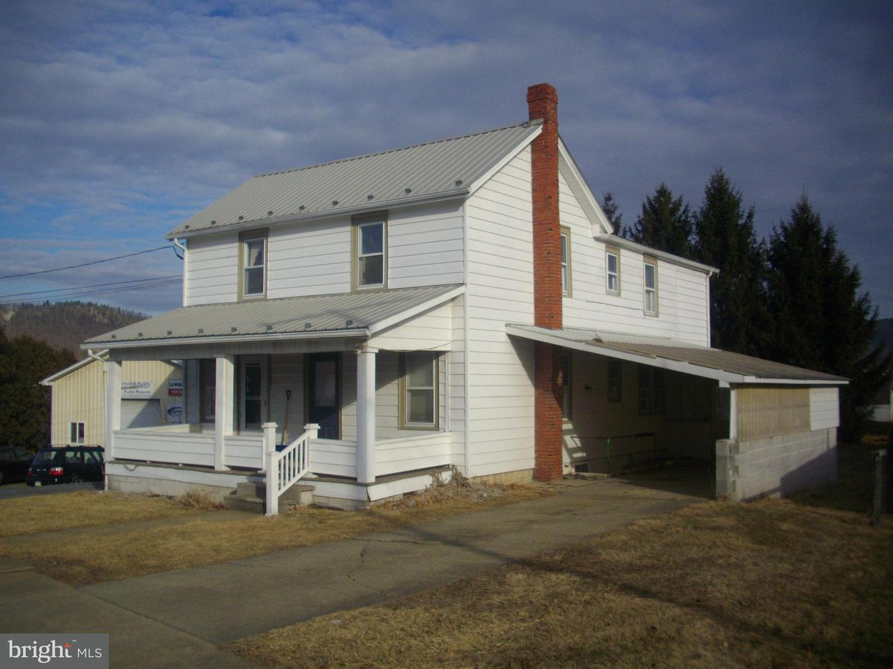 Single Family for Sale at 312 E North St McConnellsburg, Pennsylvania 17233 United States
