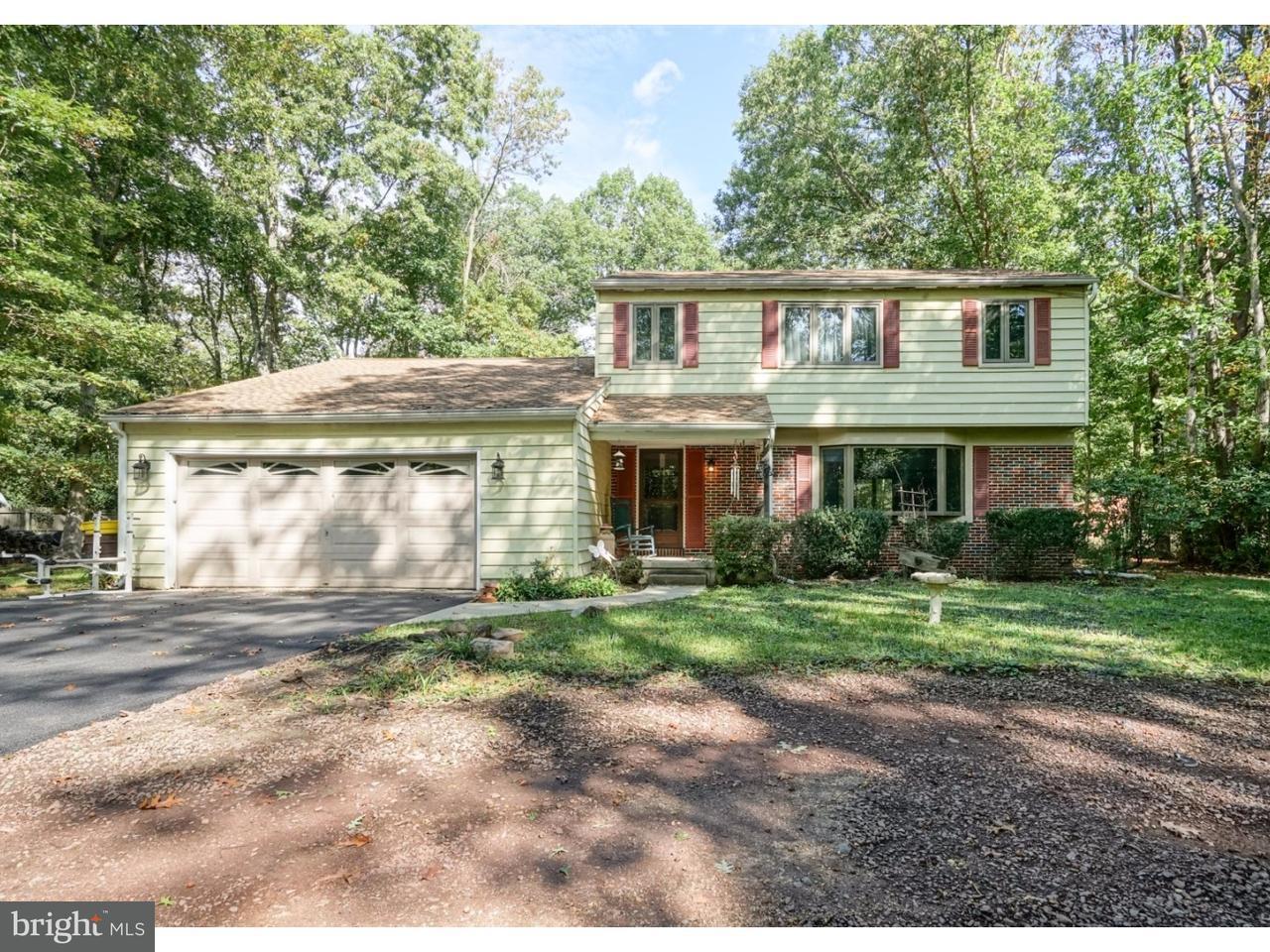 Casa Unifamiliar por un Venta en 5 SHAWNEE Trail Shamong, Nueva Jersey 08088 Estados Unidos