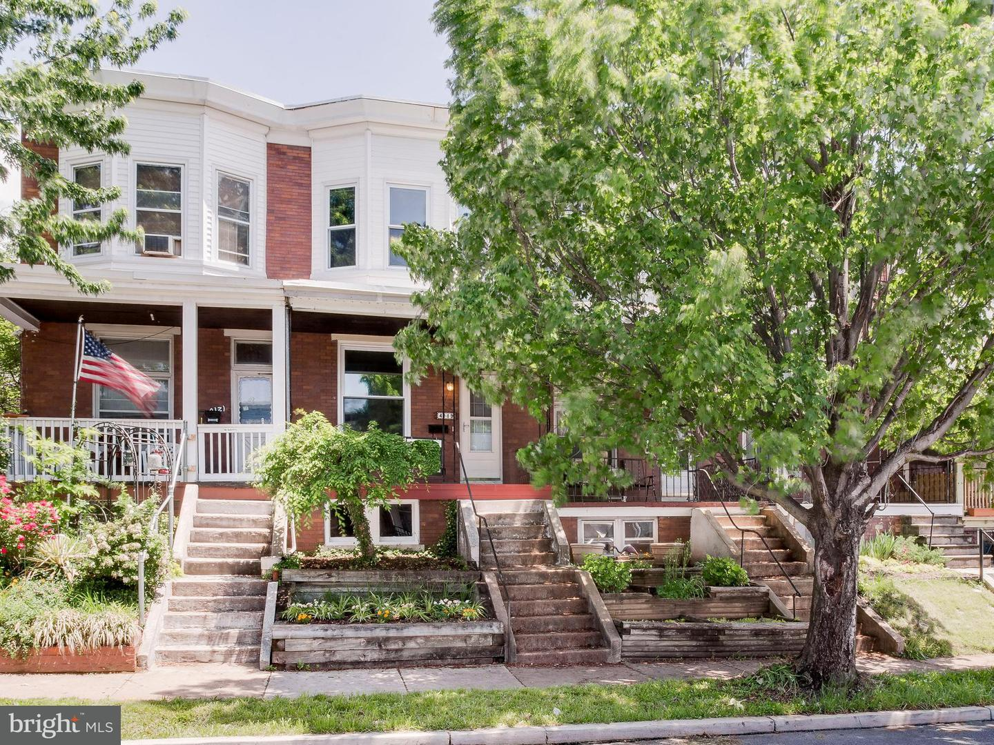 Single Family for Sale at 4119 Falls Rd Baltimore, Maryland 21211 United States