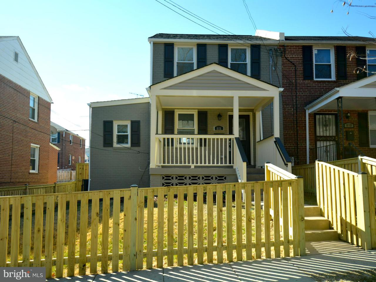 Single Family for Sale at 615 Gallatin St NE Washington, District Of Columbia 20017 United States