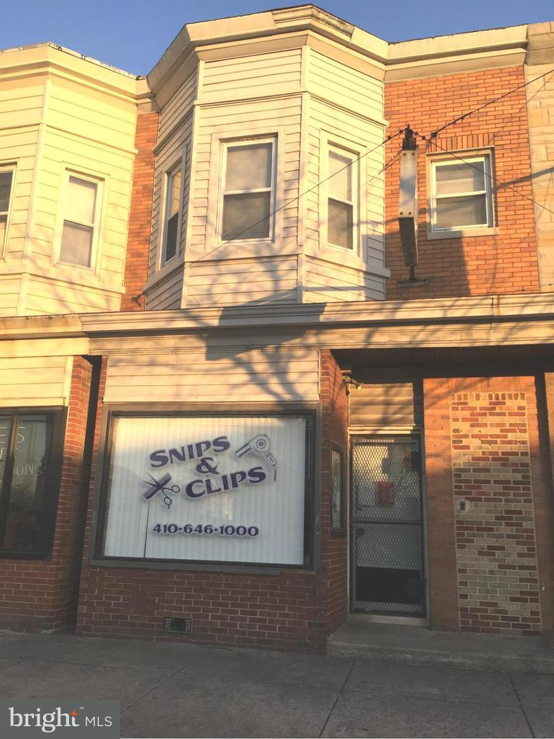 Commercial for Sale at 2509 Washington Blvd Baltimore, Maryland 21230 United States