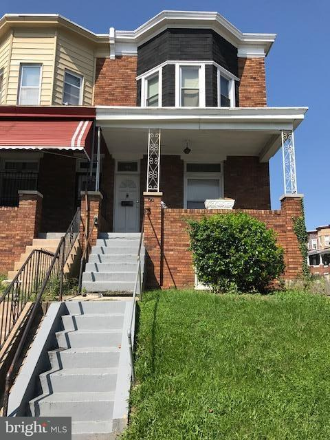 Single Family for Sale at 810 Bentalou St N Baltimore, Maryland 21216 United States