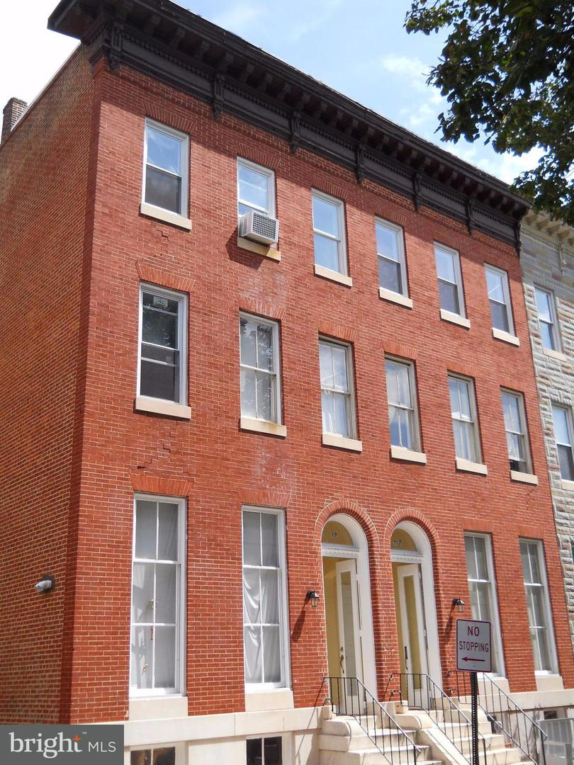 Other Residential for Sale at 717 Carrollton Ave N Baltimore, Maryland 21217 United States