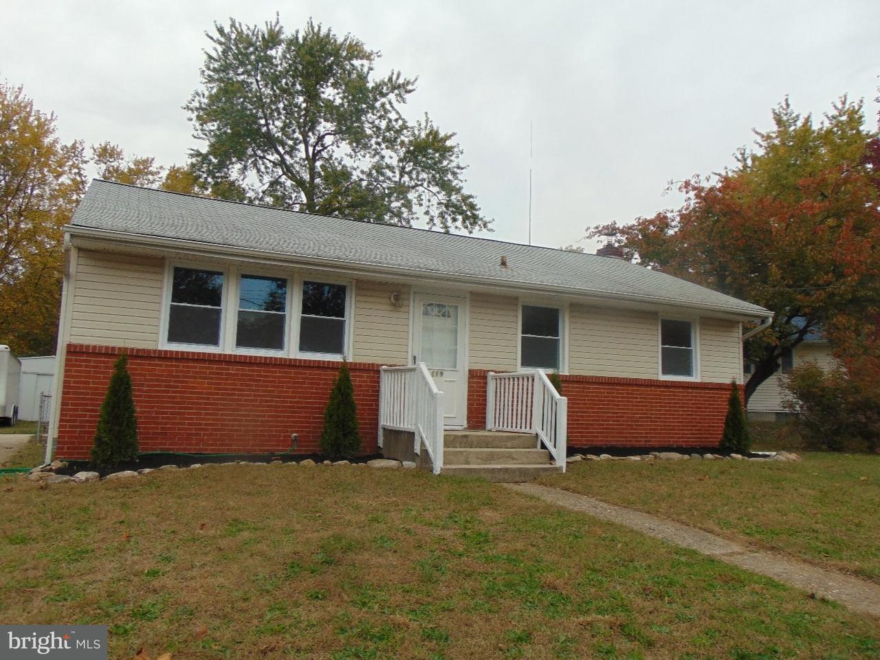 独户住宅 为 销售 在 119 E MILITARY Drive National Park, 新泽西州 08063 美国