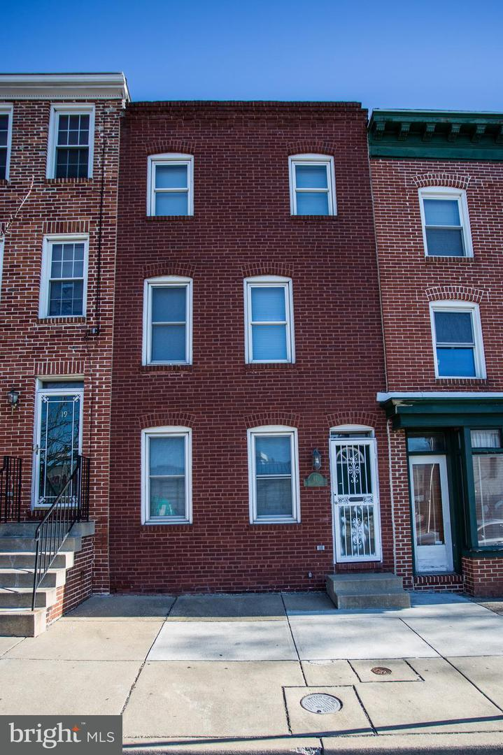 Single Family for Sale at 17 Eden St Baltimore, Maryland 21231 United States
