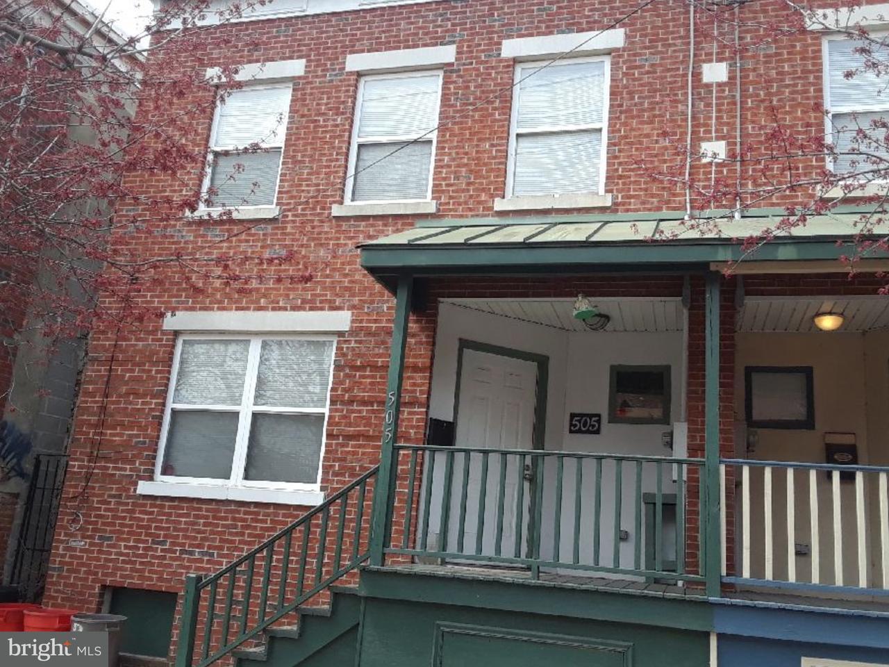 Частный односемейный дом для того Продажа на 505 S 6TH Street Camden, Нью-Джерси 08103 Соединенные Штаты