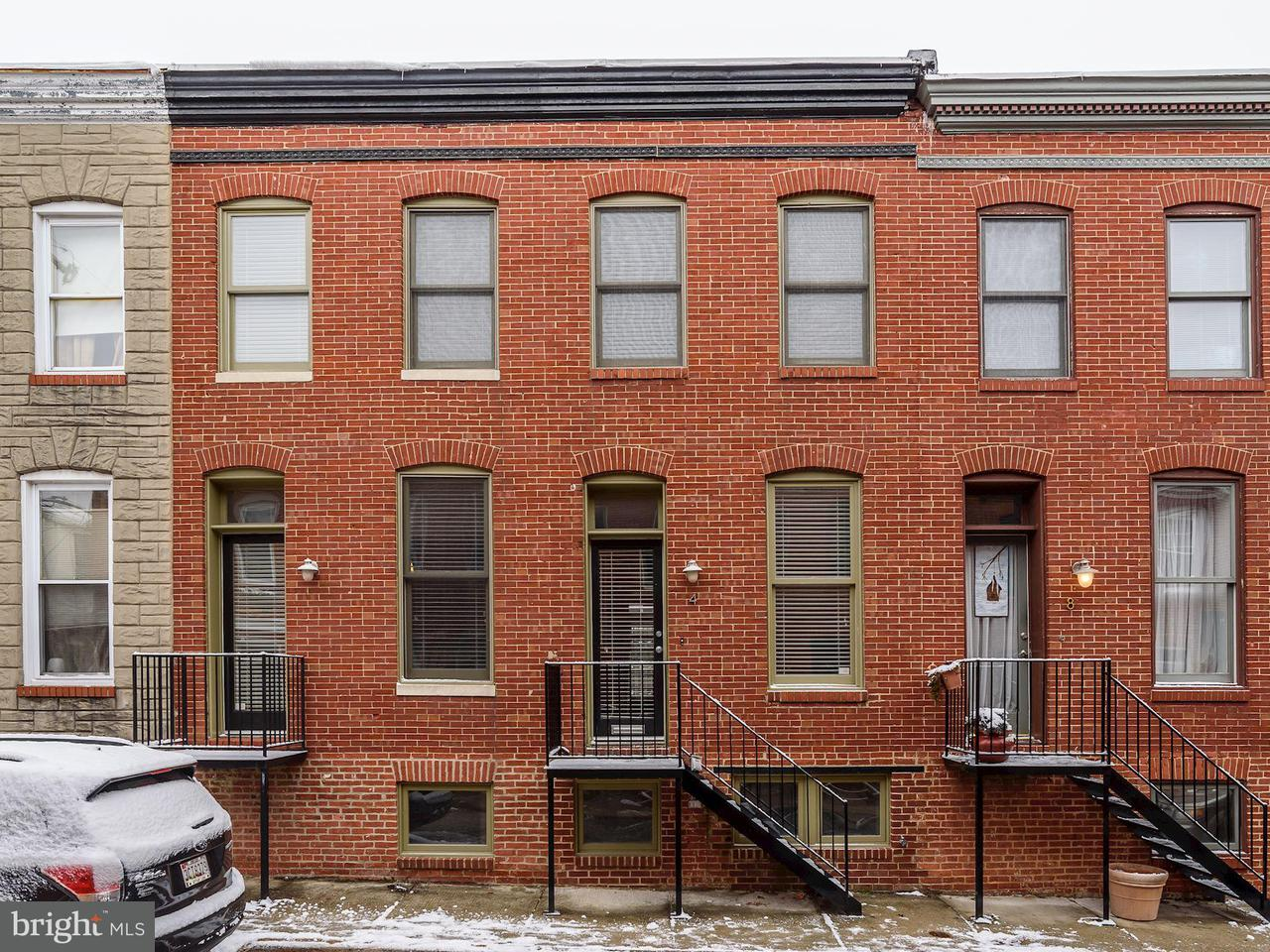 Single Family for Sale at 4 Port St Baltimore, Maryland 21224 United States