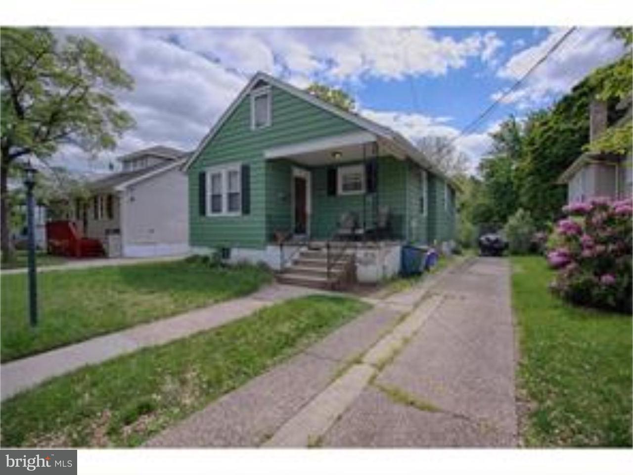 Casa Unifamiliar por un Alquiler en 176 READING Avenue Collingswood, Nueva Jersey 08107 Estados Unidos
