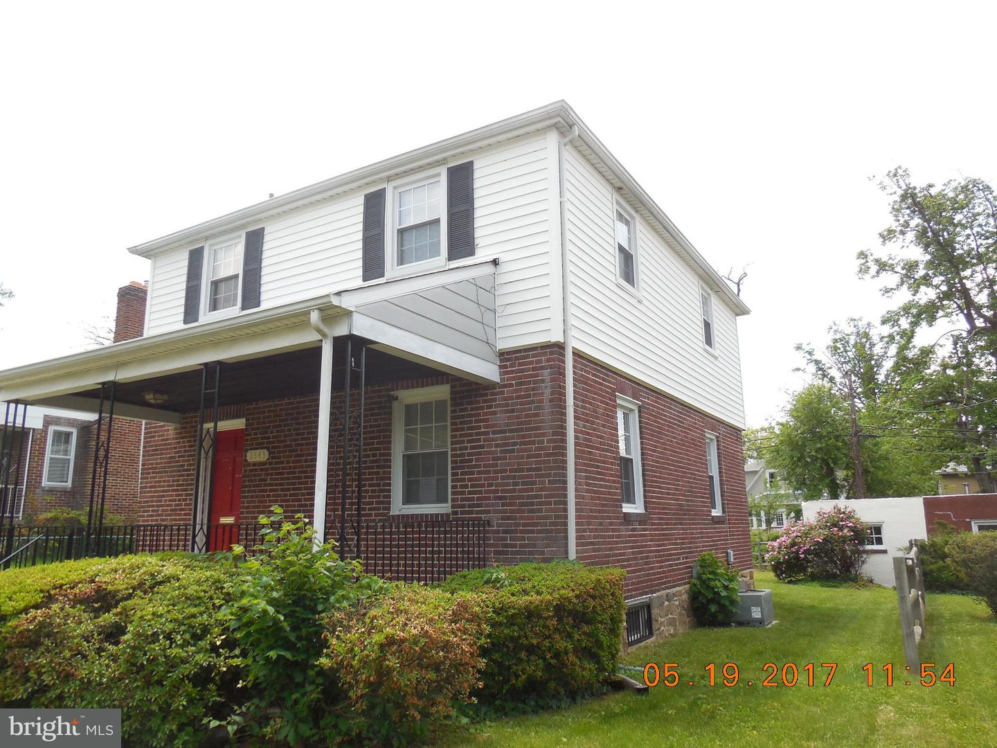 Single Family for Sale at 3343 Moravia Rd Baltimore, Maryland 21214 United States