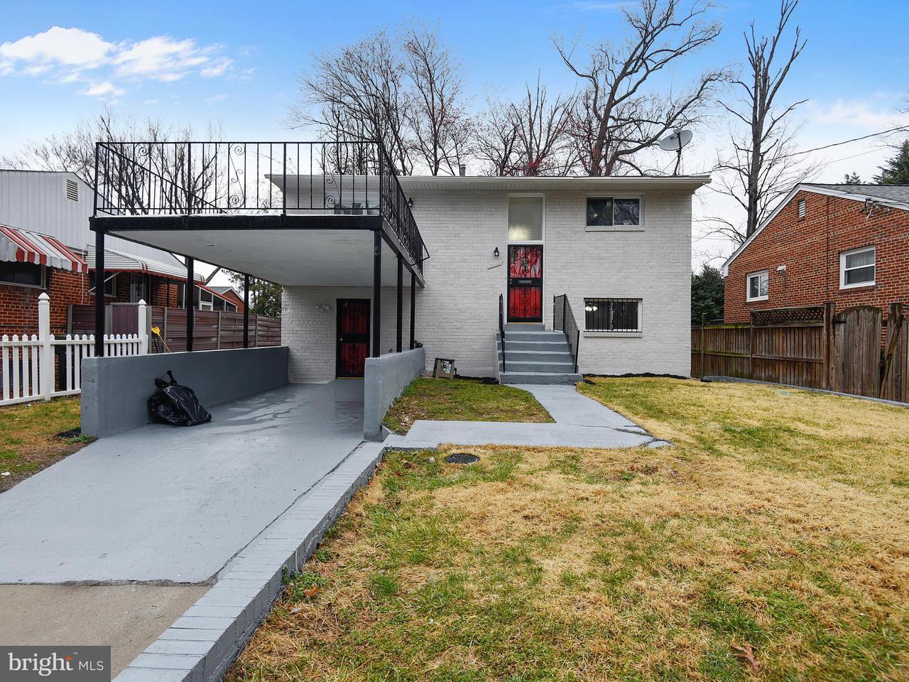 Single Family for Sale at 3440 Nash Pl SE Washington, District Of Columbia 20019 United States
