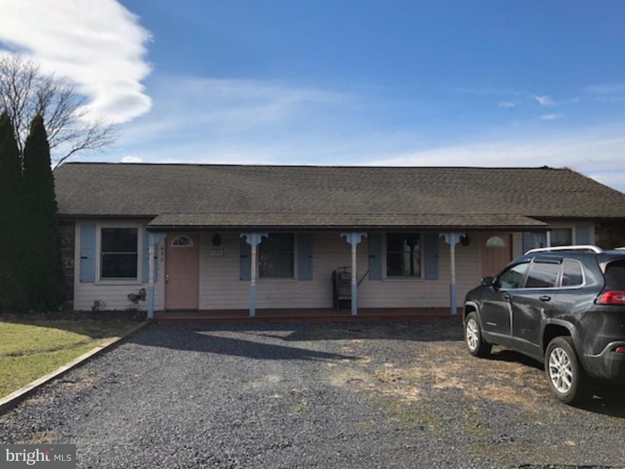 Maison unifamiliale pour l à louer à 492 OLD SWEDE Road Douglassville, Pennsylvanie 19518 États-Unis