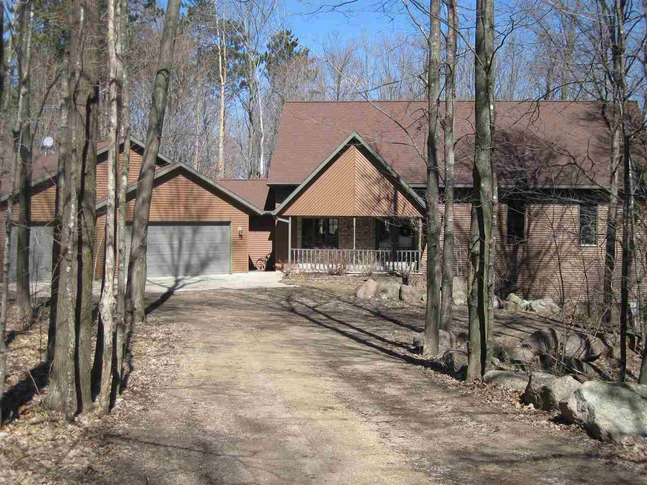 View Single-Family Home For Sale at E7696 HORN ROAD, Marion, WI