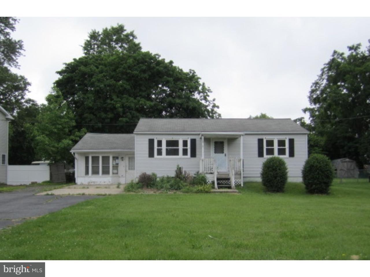 Single Family Home for Sale at 1155 MONMOUTH Road Eastampton Township, New Jersey 08060 United States