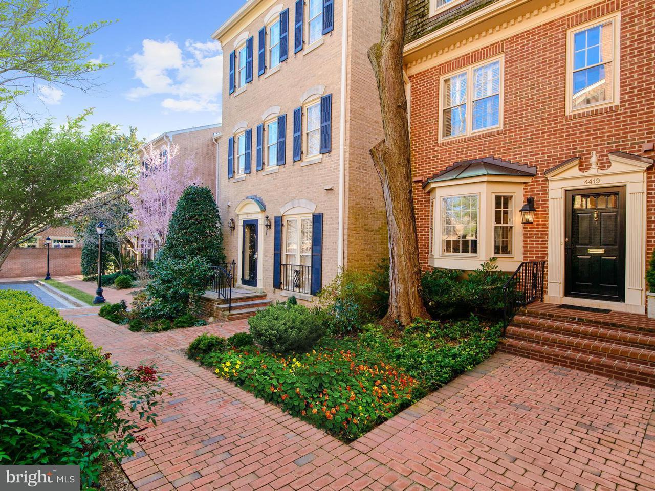 多棟聯建住宅 為 出售 在 4419 Westover Pl Nw 4419 Westover Pl Nw Washington, 哥倫比亞特區 20016 美國