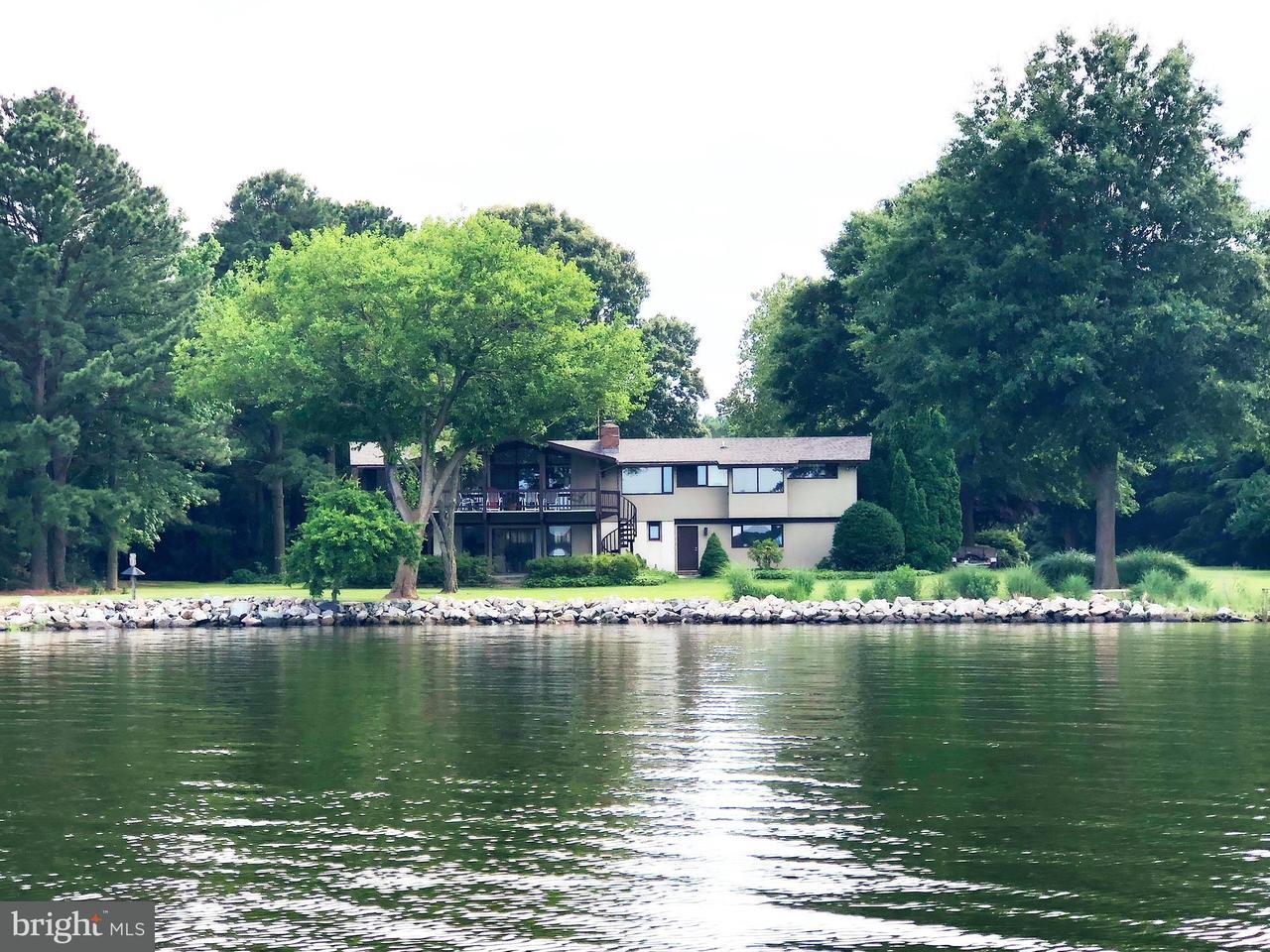 Single Family for Sale at 7739 Quaker Neck Rd Bozman, Maryland 21612 United States
