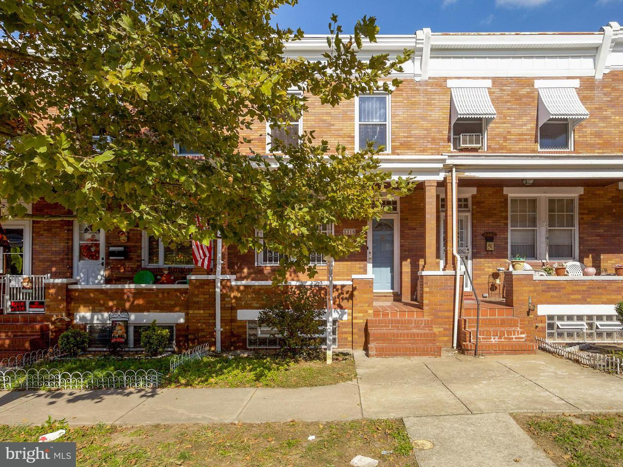 Other Residential for Rent at 3316 Kenyon Ave Baltimore, Maryland 21213 United States