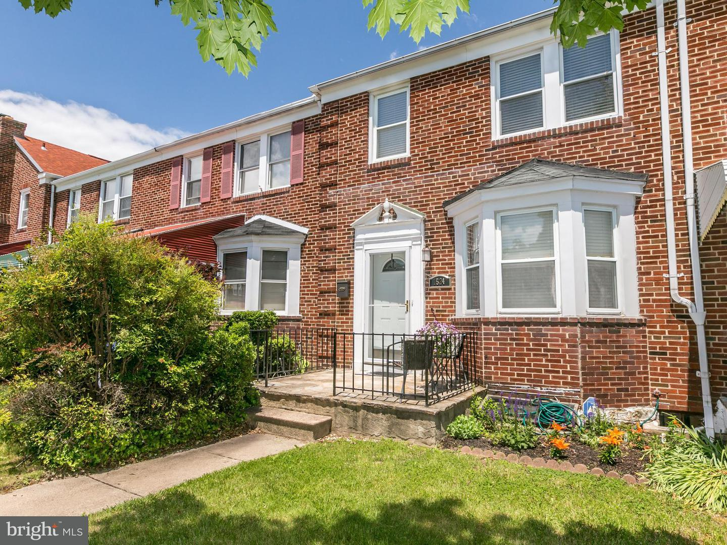 Single Family for Sale at 1524 Sheffield Rd Baltimore, Maryland 21218 United States